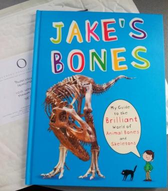 The new book by Jake McGowan-Lowe called Jake's Bones. (C) Paolo Viscardi