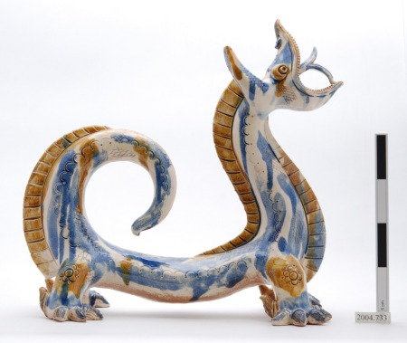 """Wow, that's amazing!"" - a beautiful ceramic dragon from Uzbekistan (Image: Horniman Museum & Gardens)"