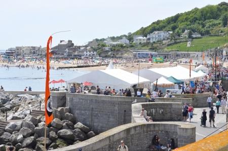 Lyme Regis Fossil Festival in full swing (Image: Anthony Roach)
