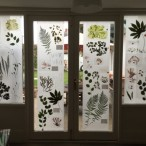 Garden windows bring to mind giant microscope slides