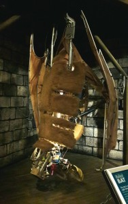 This bat robot is nearly 20 x life-size. The Robot Zoo, Horniman Museum and Gardens